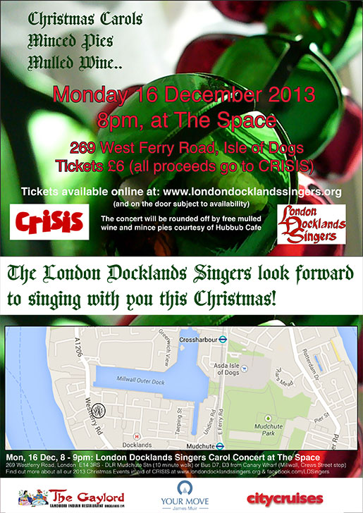 London Docklands Singers : Carol Concert : December 2013